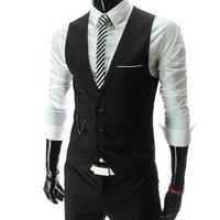 New Arrival Dress Vests For Men - Slim Fit Mens Suit Vest