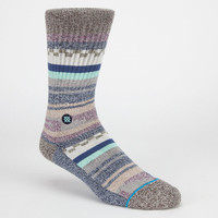 Stance Azteca Mens Crew Socks Grey  In Sizes L/Xl For Men 24146511501