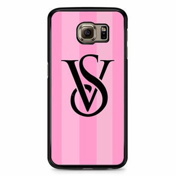 Victoria Secret Logo 2 Samsung Galaxy S6 Case