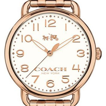 COACH 'Delancey' Round Bracelet Watch, 36mm | Nordstrom