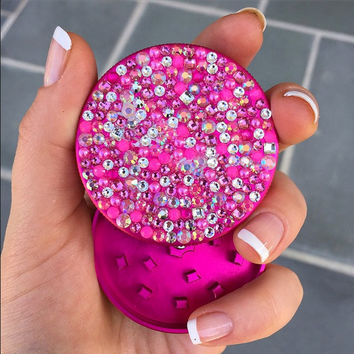 Swarovski Pocket Shredder -- Pink Crystal Confetti