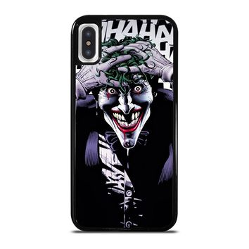 BATMAN THE KILLING JOKE iPhone X / XS case