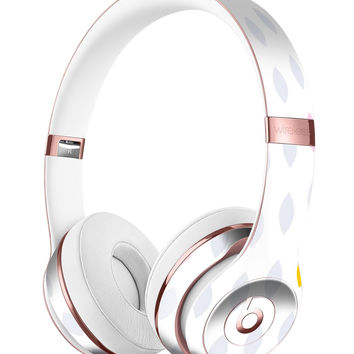 Pink And Yellow Descending Droplets Full-Body Skin Kit for the Beats by Dre Solo 3 Wireless Headphones