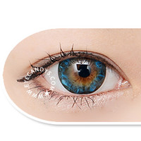 neo ruby queen blue Circle Lens Cosmetic Big Eye Colored Contacts Lenses | EyeCandy's