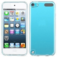 Premium Transparent Hard Crystal Rear Clear Case Cover for Apple iPod Touch 5G, 5th Generation, 5th Gen - compatible with 32GB / 64GB