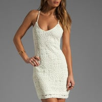 Jack by BB Dakota Maiden Crochet Lace Dress in Ivory from REVOLVEclothing.com