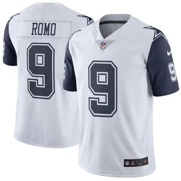 Men's Dallas Cowboys Tony Romo Nike Color Rush Limited Jersey
