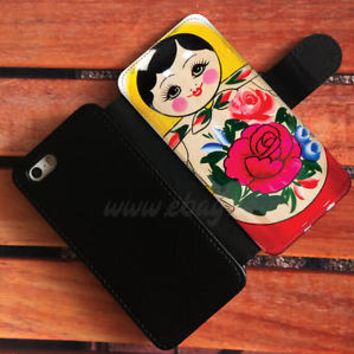 Russian doll matryoshka nested doll Wallet iPhone cases Samsung Wallet Cases