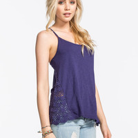 Roxy Follow Me Womens Tank Royal  In Sizes