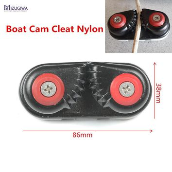 Marine Composite Boat Cam Cleat Nylon Sailing Sailboat Ball Bearing Cam-Matic Cleats, Cam-matic Alum Cam Cleat 83mm with Spring