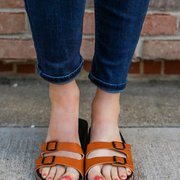 Beach Therapy Sandals - Camel