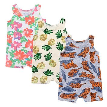 Baby Boys girls fashion Rompers Toddler colorful Jumpsuits Kids 2ae08393b7c8