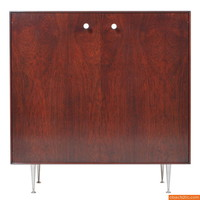 "George Nelson Rosewood ""Thin Edge"" Cabinet - Objects20c"