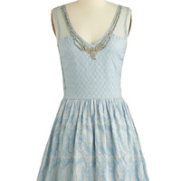 ModCloth Mid-length Sleeveless A-line Arts Cooperative Dress