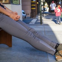 Women's Gray Bike to Work Jeans - Betabrand