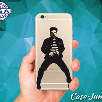 Elvis Jailhouse Rock Dance Toes Classic iPhone 5, iPhone 5C, iPhone 6, and iPhone 6 +, iPhone 6s, iPhone 6s Plus and iPhone SE Clear Case