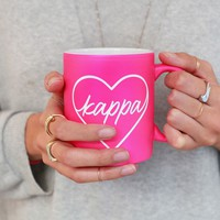 Sorority Heart Mug