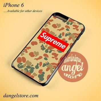 Antique Camo Supreme Phone case for iPhone 6 and another iPhone devices