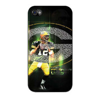 green bay packers aaron rodgers iPhone 4 4s 5 5s 5c 6 6s plus cases