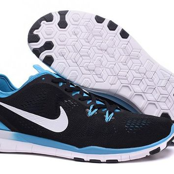 Nike Free TR FIT 5 Brthe Women's Training Shoes Clearwater Black/Jade