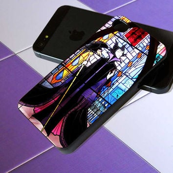 Maleficent Sleeping Beauty Glass - iPhone 4 / iPhone 4S / iPhone 5 / Samsung S2 / Samsung S3 / Samsung S4 Case Cover