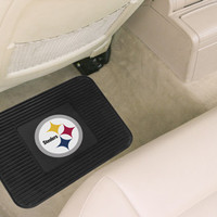 Pittsburgh Steelers Heavy Duty Vinyl Rear Seat Car Utility Mat