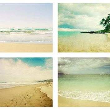 Beach Photography Set - Four prints - Save 35%