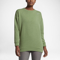 The Nike Bunker 3.0 Crew Women's Golf Top.