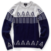 Cashmere Patterned Raglan Sweater