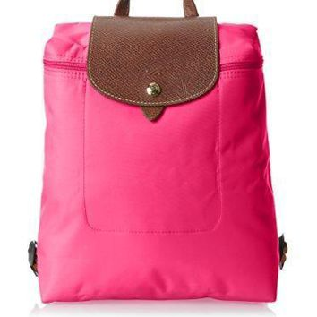 Longchamp Le Pliage Backpack Cyclamen