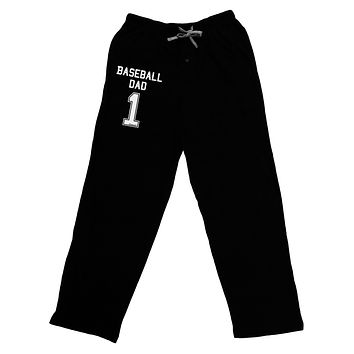 Baseball Dad Jersey Adult Lounge Pants by TooLoud