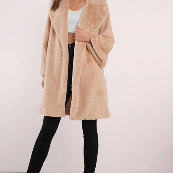 Camilla Faux Fur Coat