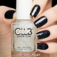 Color Club Starry Temptress Glitter Top Coat Nail Polish