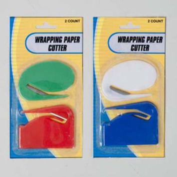 Wrapping Paper Cutter - 2 Pack - 48 Units
