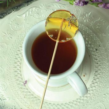 LAVENDER & HONEY LOLLIPOPS - Honey Tea Spoons