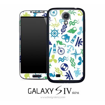 Anchors n' Such Skin for the Galaxy S4