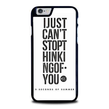 5 SECONDS OF SUMMER 6 5SOS iPhone 6 / 6S Case Cover