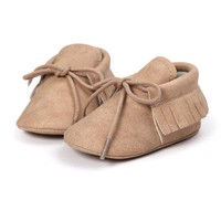 Baby Shoes PU Solid Cute Baby Girl Shoes Toddler Shoes Infant Baby Boy Girl First Walker