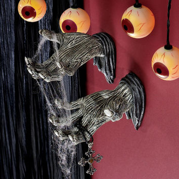 Design Toscano Hands of the Undead Zombie Wall Sculpture & Reviews | Wayfair
