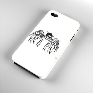 emo angel by linkesammy iPhone 4s Case