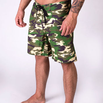 Men's Phase Board Shorts in Camo