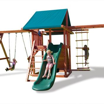Playnation Grand Stand Wooden Swing Set