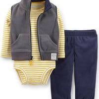 Carter's Baby Boys' 3-Piece Microfleece Set