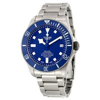 Tudor Pelagos Blue Dial Automatic Titanium Mens Watch 25600TB-BLTI