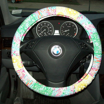 Custom Designer Inspired Steering Wheel Cover