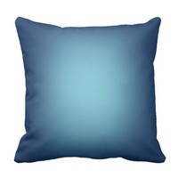 White spotlight on blue cushion