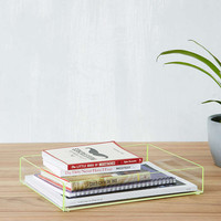 Large Acrylic Stacking Tray - Urban Outfitters