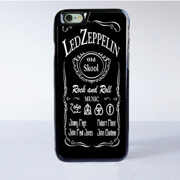Led Zeppelin Rock N Roll iPhone 6S Case