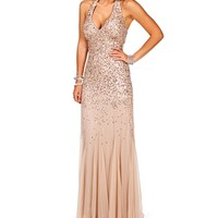 Ingrid Blush Homecoming Dress