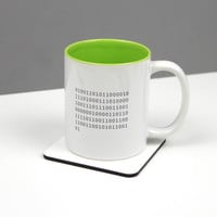 Personalised Binary Code Mug